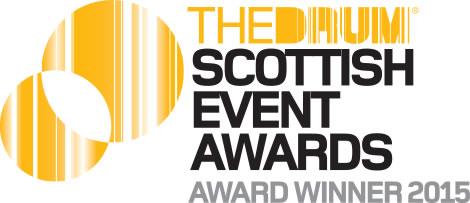 Drum_Scottish Event Awards_winner